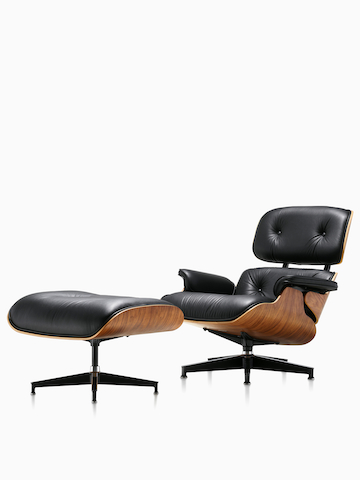 Eames 躺椅和脚凳 ¥54,068.00