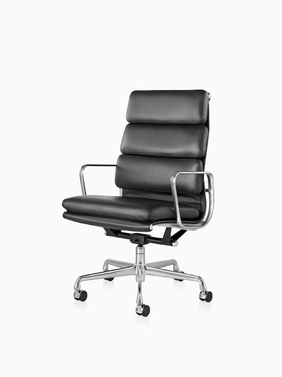 Eames Soft Pad 软垫高背座椅