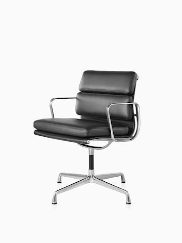 Eames Soft Pad 软垫低背座椅