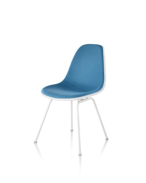 Eames 4腿底座塑壳正面软包单椅