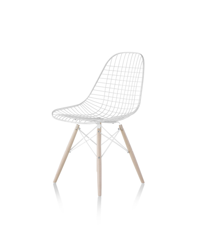 Eames 金属底座钢丝座椅