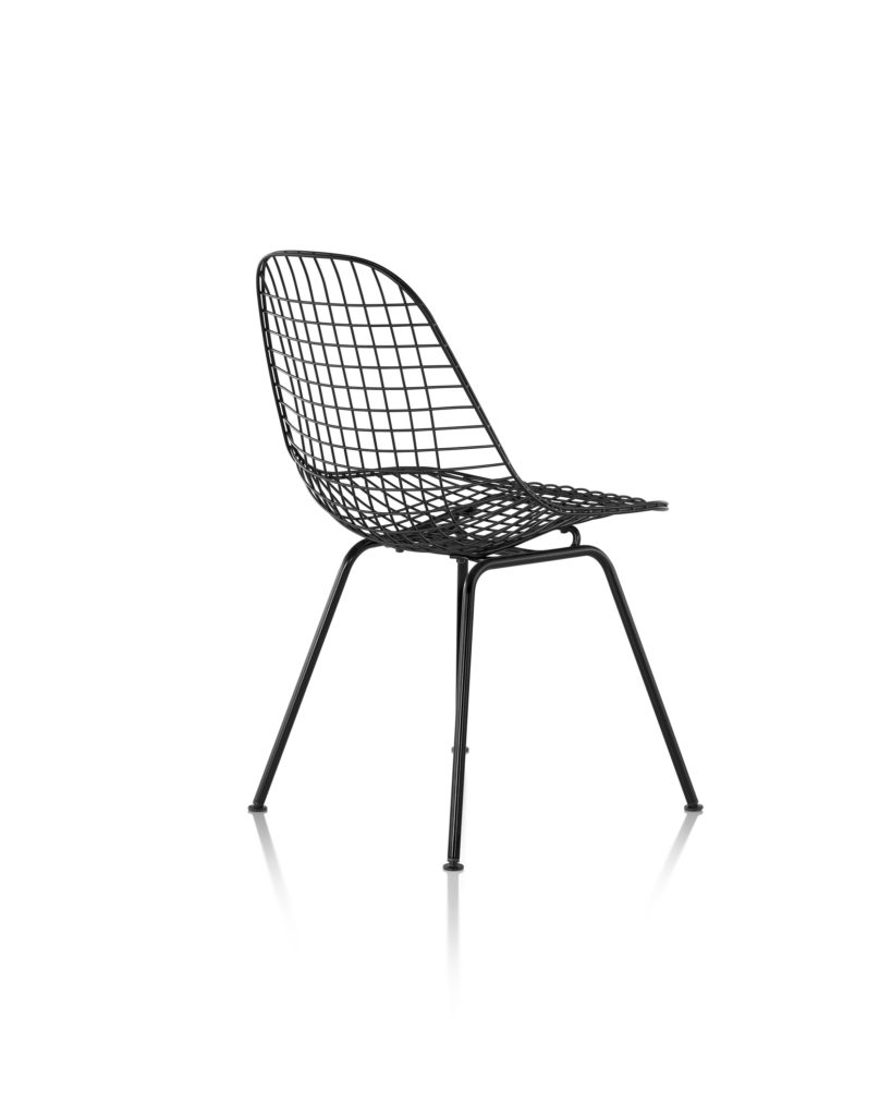 Eames 4腿底座钢丝座椅