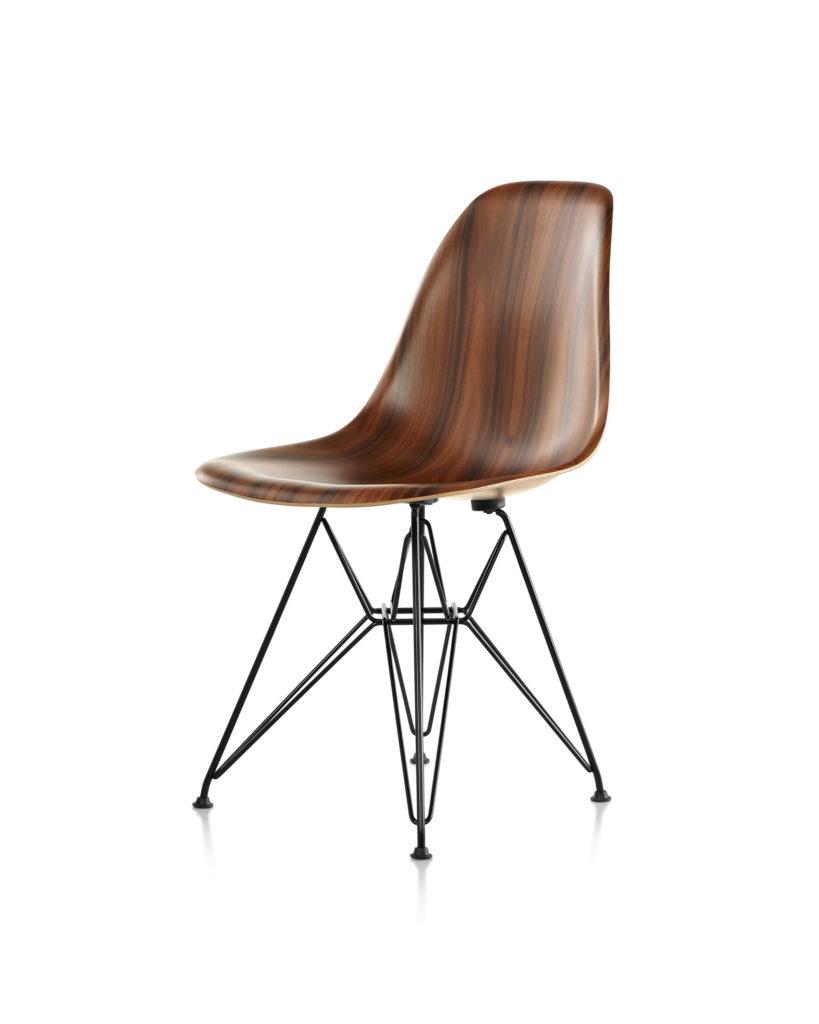 Eames 金属底座木壳单椅¥9,736.00
