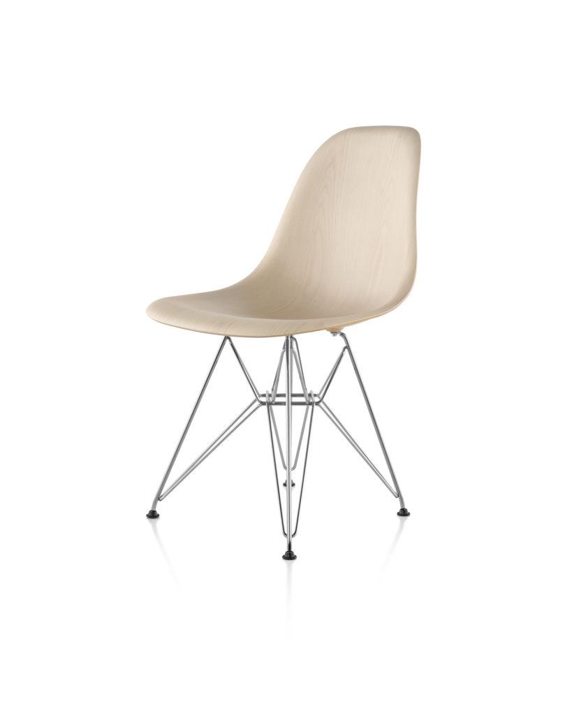 Eames 金属底座木壳单椅¥8,353.00
