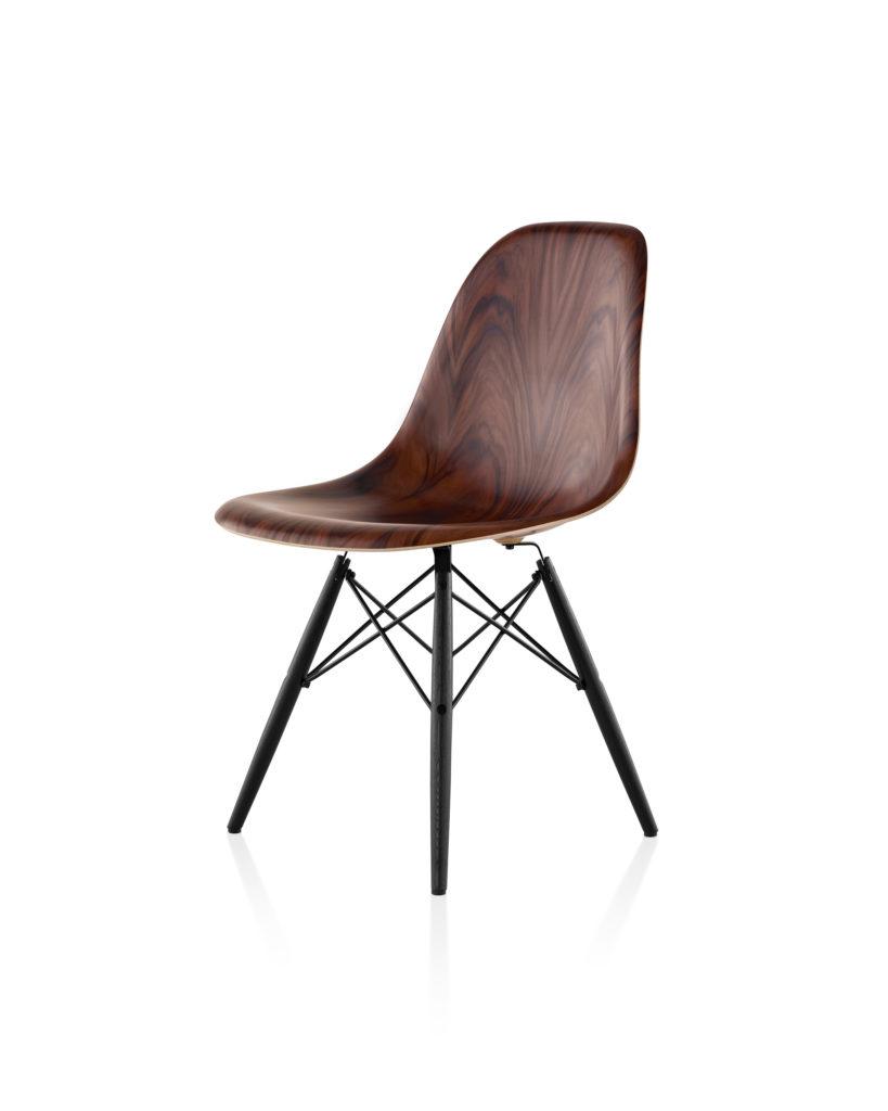 Eames 木质底座木壳单椅¥11,381.00