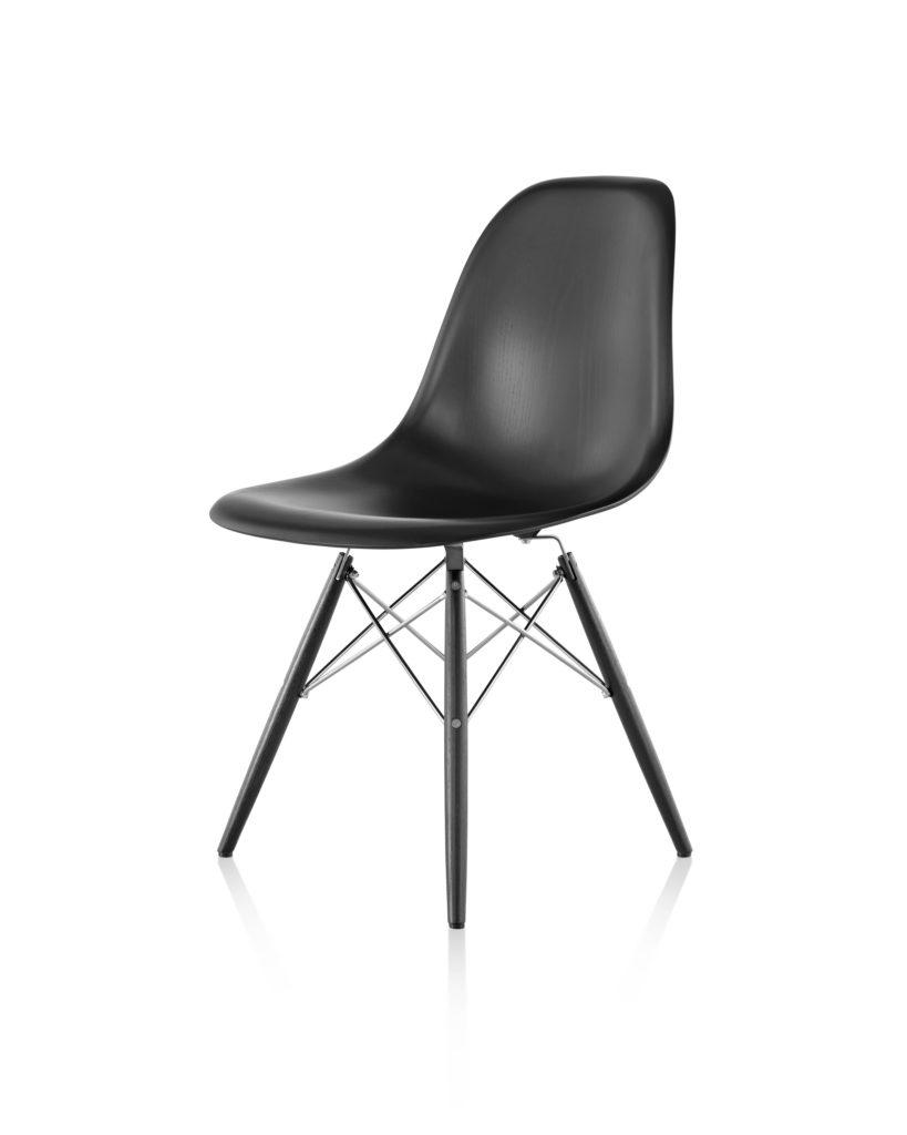Eames 木质底座木壳单椅¥8,769.00